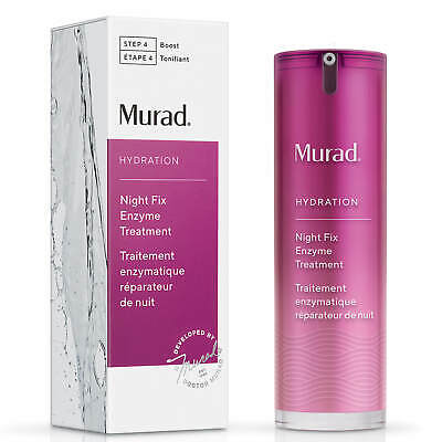 Murad Step 4 Boost HYDRATION Night Fix Enzyme Treatment 30ml Brand New RRP £70