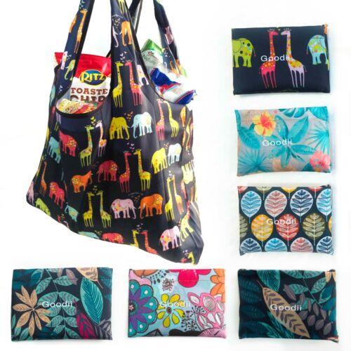 6pcs Eco Reusable/Washable/Folding Shoulder Tote Grocery Bag up to 60LB 58x68 CM