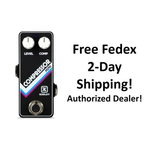 New Keeley Compressor Mini Guitar Effects Pedal
