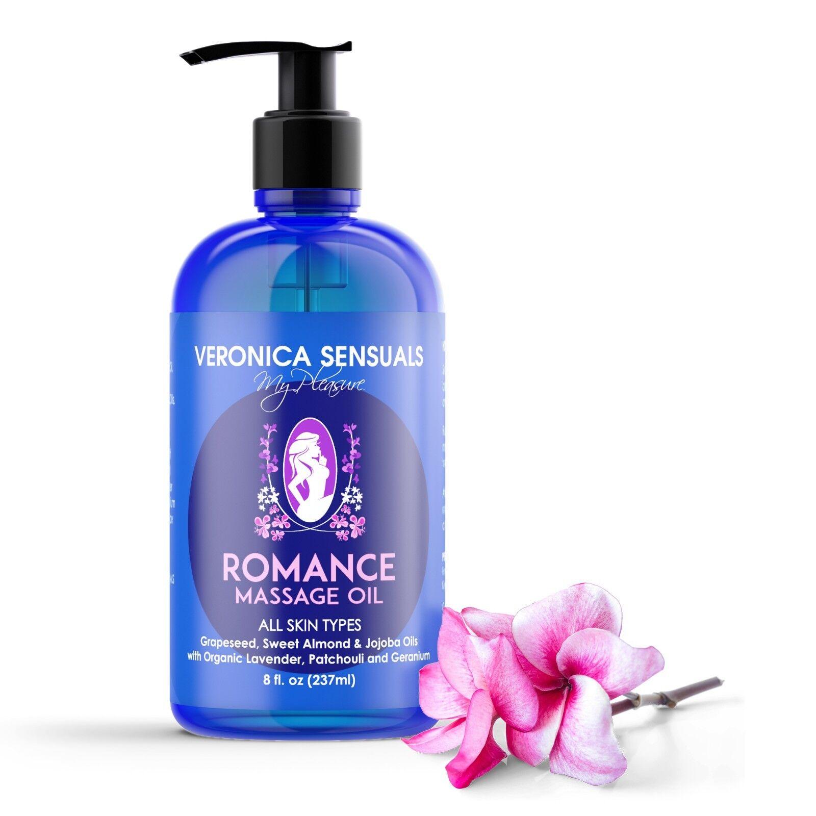 Couples Massage Oil - Natural Aromatherapy Aphrodisiac Massa