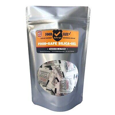 3g 100packfood Safe Silica Gel-safe Desiccantsafe-gel Fdatuvkosher Approved