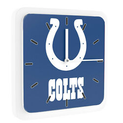 NFL Indianapolis Colts Home Office Room Decor Wall Desk Clock Magnet 6x6