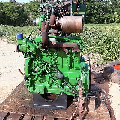 John Deere 6405 621063106410 4045tl062 Complete Used Motor