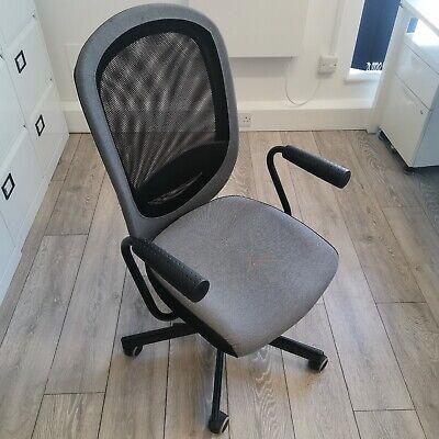 IKEA Flintan Office Chairs w/Armrests Grey/Black