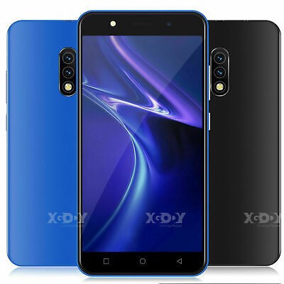 Android 8.1 Unlocked Touch Cell Phone Quad Core 2 SIM 3G GSM