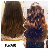 F. Hair extension Big  Promo for nov. Take your appointment !!!!