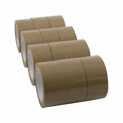 36 Rolls Carton Sealing Brown Packing Tape Shipping - 2.5 Mil 2 X 110 Yards