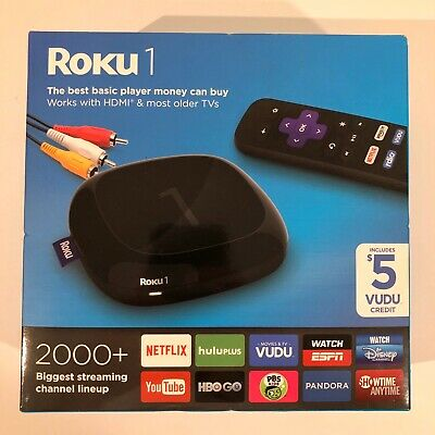 New Roku 1 Streaming Media Player (2710R)