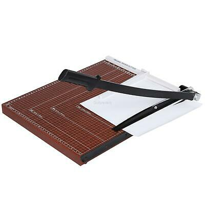 New Heavy Duty Guillotine Paper Cutter 12 Commercial A2-b7 Trimmer