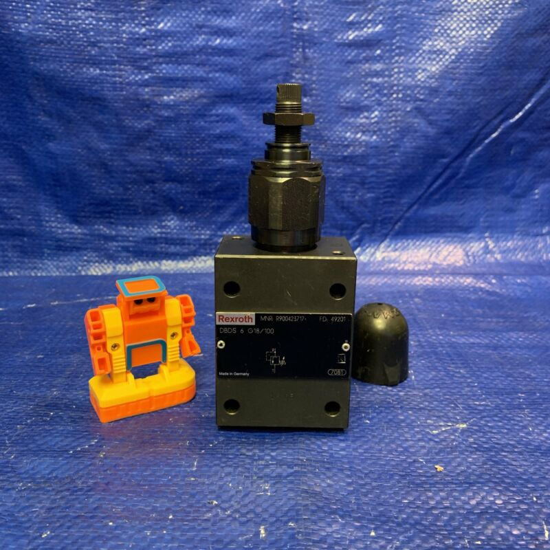 Rexroth Bosch Group R900423717 Hydraulic Pressure Control Valve
