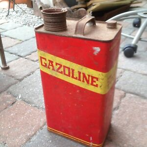 Antique Mexican gas can