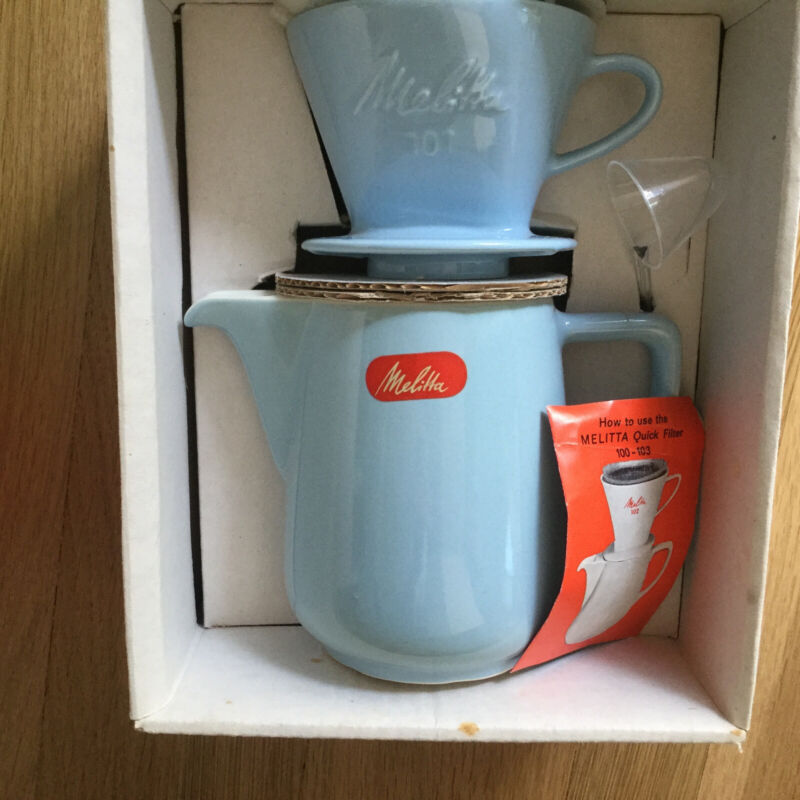 Vintage Melitta Coffee Set