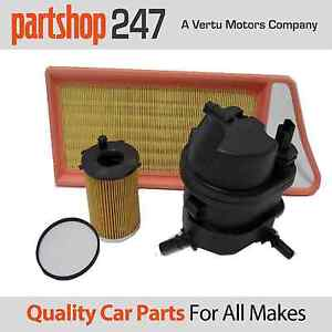 Peugeot 107 207 307 1.4 HDI Service Kit Oil, Air, Fuel Filters