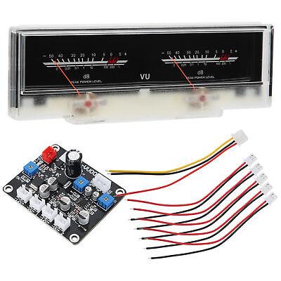 Vu Meter Db Level Meter Power Amplifier Meter W Backlight Display Driver Board