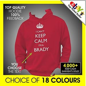 I-CANT-KEEP-CALM-IM-choose-name-job-CUSTOM-PRINTED-PERSONALISED-Hoodie-Hoody