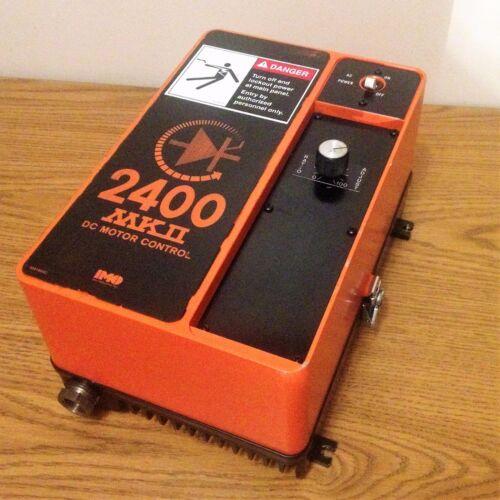 FINCOR INCOM MODEL 2400 MKII / 2401/C  DC MOTOR CONTROL