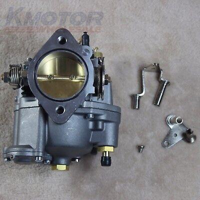Shorty Carburetors - New 11-0420 Carburetor Super E Shorty Carburetor Big Twin or Sportster Carb