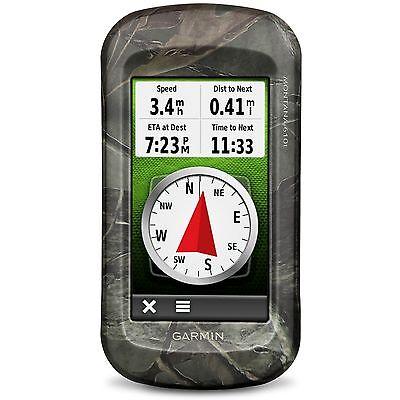 Garmin Montana 610t Camo Large Touchscreen Outdoor GPS w/ TOPO USA 010-01534-01
