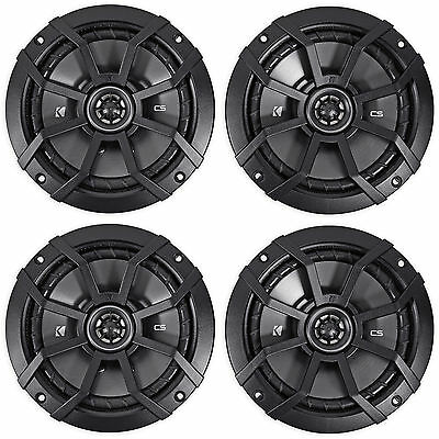 "(4) KICKER 43CSC654 CSC65 6.5"" 6-1/2"" 1200w 4-Ohm Car Audio Coaxial Speakers"