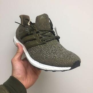 Adidas Ultra Boost 3.0 Trace Olive US 10.5 / UK 10 (S82018)