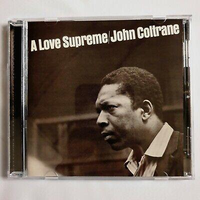 A Love Supreme [Remaster] John Coltrane CD Impulse Jazz Verve