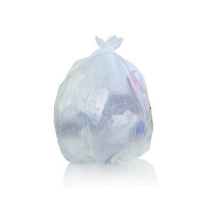 Toughbag Clear Trash Bags, 65 Gallon Garbage Bags (50) 50 Case
