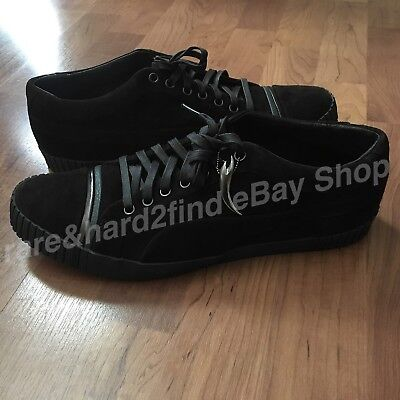 Puma AMQ Scarred SUEDE Licorice Shoes UK 10 ALEXANDER McQUEEN 100% AUTHENTIC