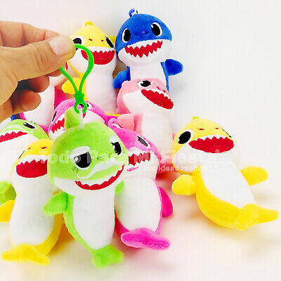 - Baby Shark Favors Clip On Plush Doll Party Favors Gift Baby Shark Regalos 12x