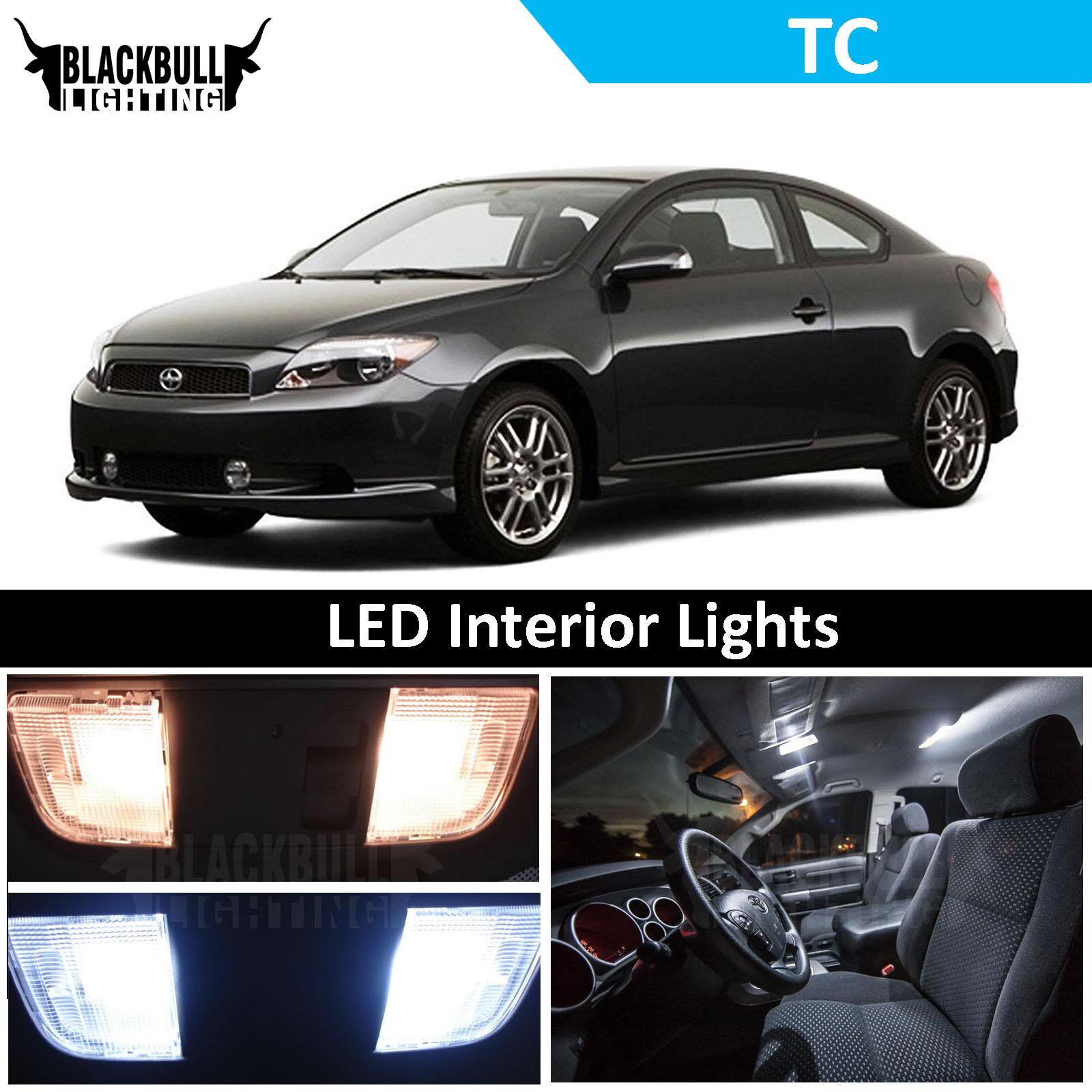 7 Pieces Classy Autos Scion tC Interior LED Package