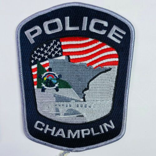 Champlin Police Hennepin County Minnesota MN Patch (A1)