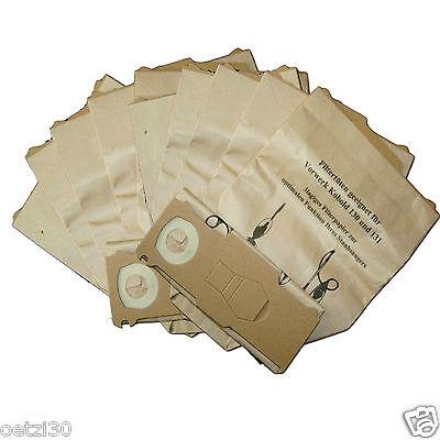 30 x Staubsaugerbeutel geeignet für Vorwerk Kobold 131 mit EB 350, EB 351