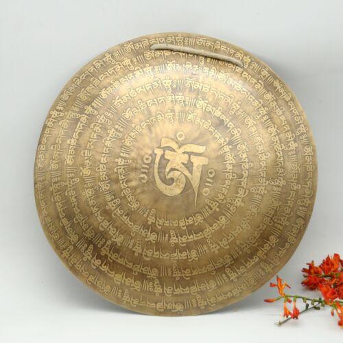 Tibetan gong-20 inches Diameter Handmade gong-Temple gong-Gong for chakra-yoga