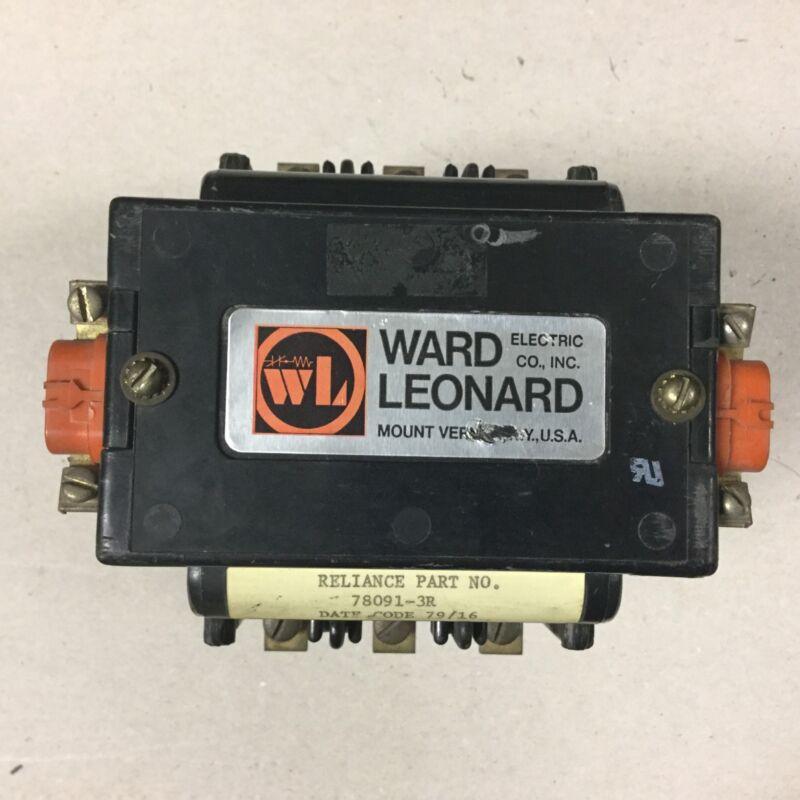 Ward Leonard RDP2-5051-11 Definite Purpose Contactor