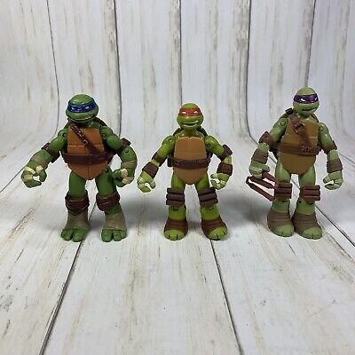 Teenage Mutant Ninja Turtles TMNT LEONARDO,Donatello, and Raphael