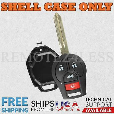 For 2004 2005 2006 2007 2008 2009 Nissan Quest Remote Shell Case Cover 751