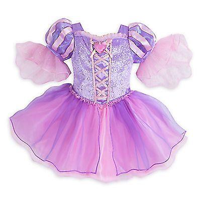 Disney Store Rapunzel Tangled Princess Deluxe Dress Baby Girl Costume Halloween - Infant Girl Halloween Costumes Princess