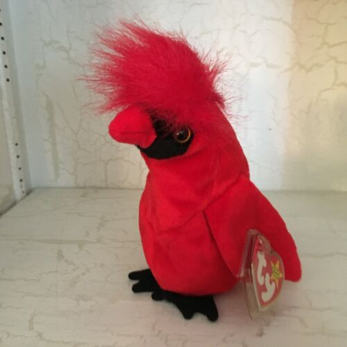 Ty Beanie baby  Mac the Cardinal bird