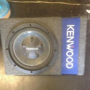 800watt kenwood sub and box Shortland Newcastle Area Preview