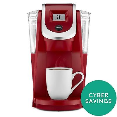 Keurig K200 Single Serve K Cup Pod Coffee Maker Red