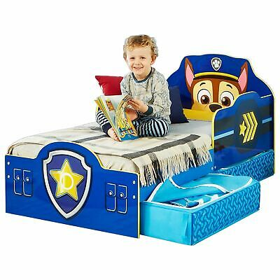 Paw Patrol Chase Toddler Bed + Mattress Options