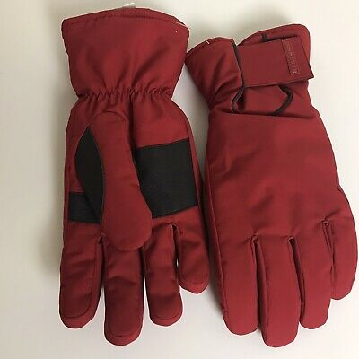 Prada Sport New Men's Padded/Ski Gloves Mittens size 8