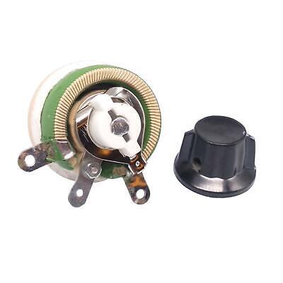 25w 20 Ohm High Power Wirewound Potentiometer Rheostat Variable Resistor