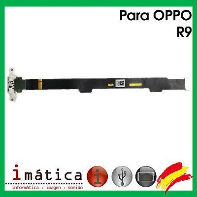Platte Laden- Für Oppo R9 Connector USB Antenne Mikrofon Vibrator Flex