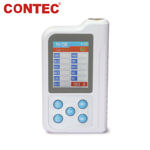 Portable Mini Urine Analyzer Rechargeable with 100 test Strips, Accurate tester