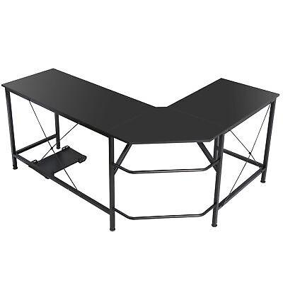"""Computer Gaming Laptop Table L-Shaped Desk Corner Workstation Office Desk 66"""""""
