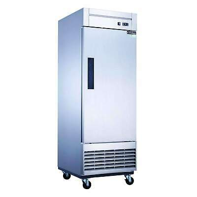 Dukers - D28f Single Door Commercial Freezer In Stainless Steel