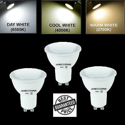 LED GU10 Cool Warm White Day Light Bulbs Energy Saving 5W 40w Light bulbs Spot