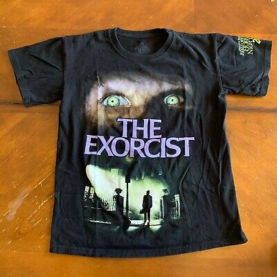 Halloween Horror Night Movie (The Exorcist 70s Horror Scary Movie T Shirt Halloween Horror Nights 2016)