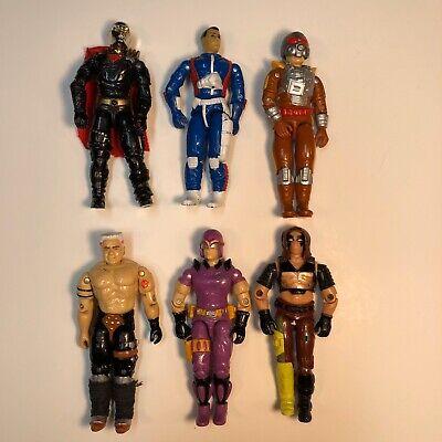 vintage hasbro gi joe action figures Cobra Destro Lot-a