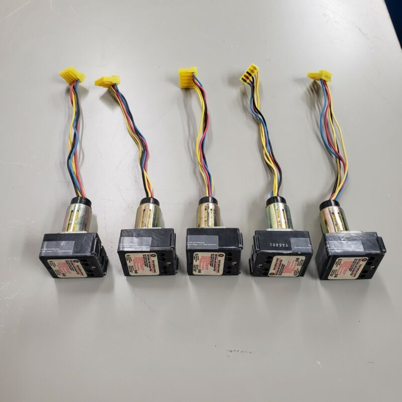 Lot of 5, General Electric, GE, RR9 Relays, With Isolated Pilot, Long Leads